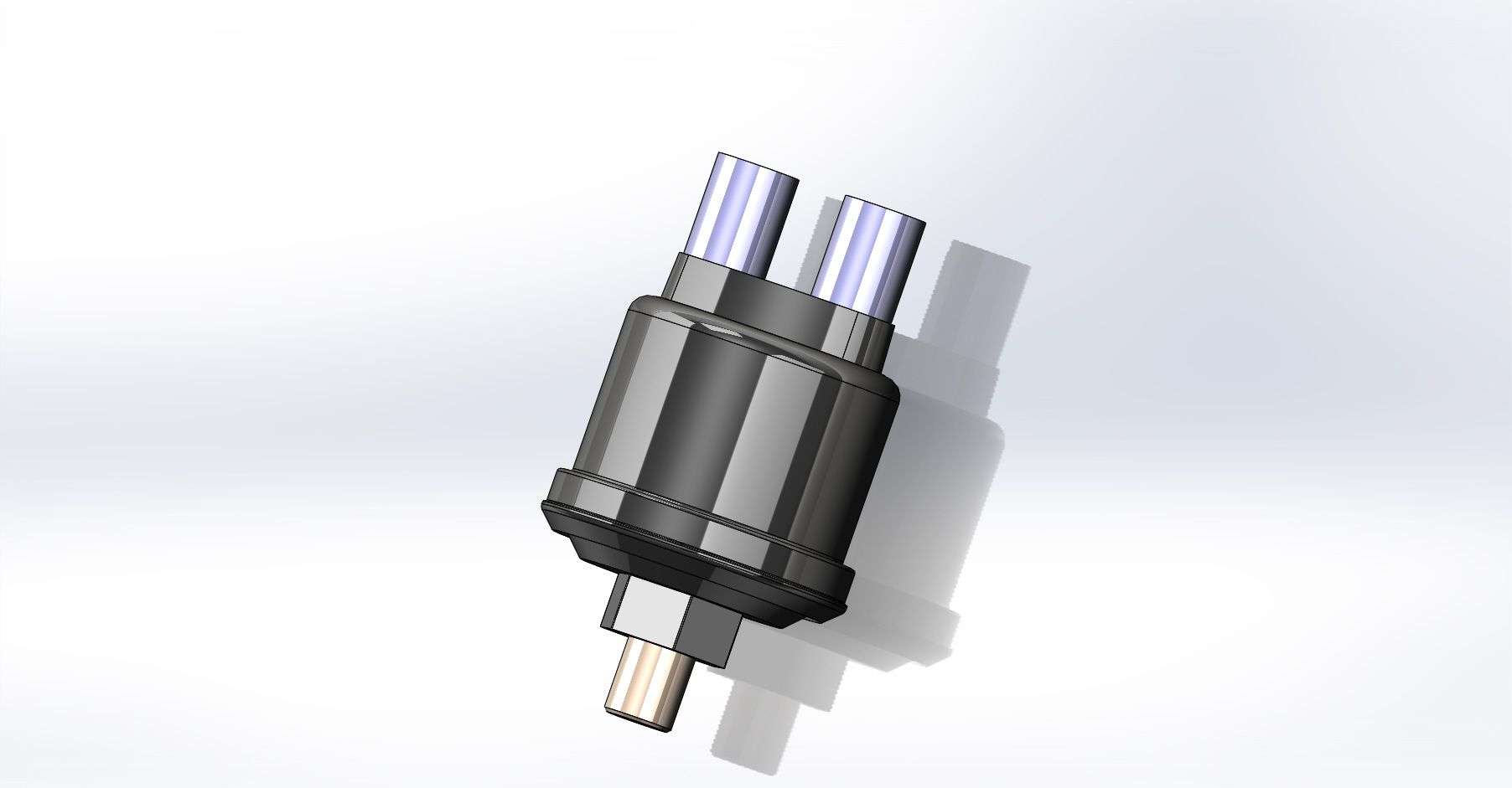 Kondensatorl/üfter L/üfter Motork/ühlung Motorgebl/äse DIEDERICHS DCL1296 L/üfter